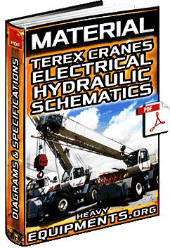 Electrical & Hydraulic Schematics for Terex LRT400, RT300/400-XL/DD Cranes