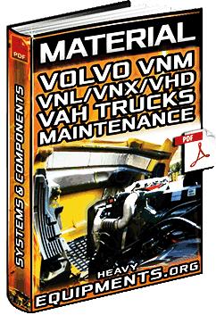 Volvo VNM, VNL, VNX, VHD & VAH Series Trucks – System Maintenance Intervals
