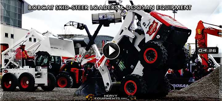 Video: Bobcat Skid-Steer Loaders & Doosan Heavy Equipment - Exhibition