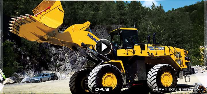 Video: Cab Controls of the Komatsu WA600-8 Wheel Loader - Functions