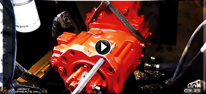 Video: How to Install a Main Hydraulic Pump on the Volvo EC330BLC Excavator