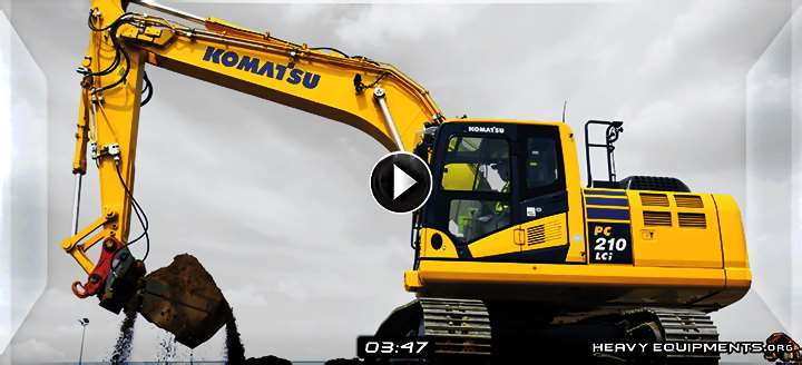 Video: Intelligent Machine Control for Komatsu PC210LCI-10 Hydraulic Excavators