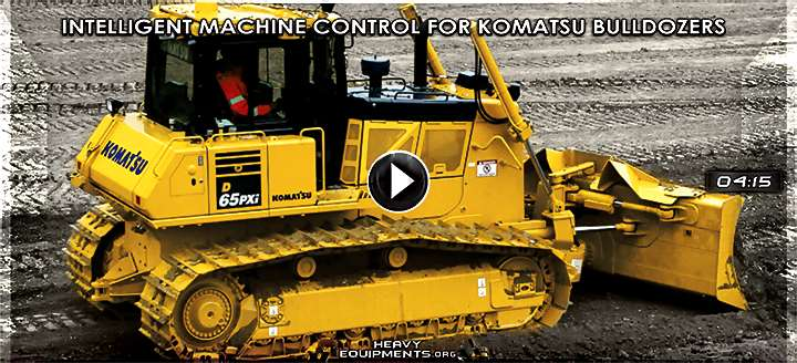 Video: Intelligent Machine Control System for Komatsu Bulldozers - Features