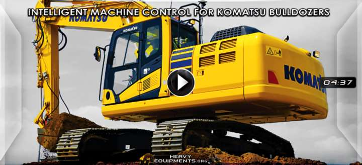 Video: Intelligent Machine Control System for Komatsu Excavators – Features