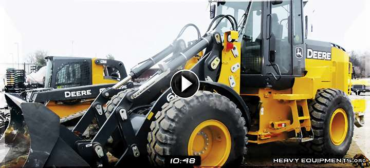 Video: John Deere 624K Wheel Loader - Walkaround, Inspection & Controls
