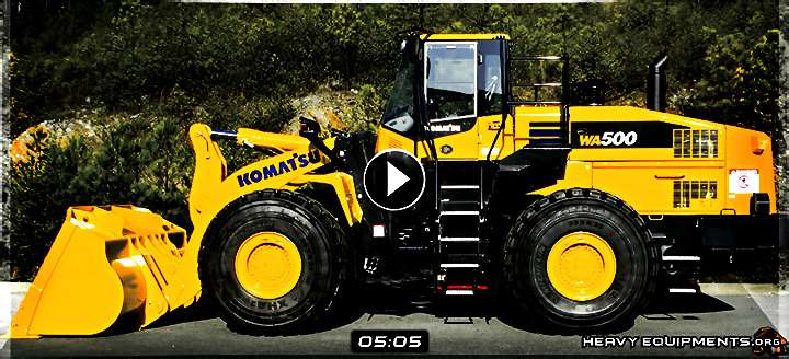 Video: Komatsu WA500-7 Tier 4 Interim Wheel Loader - Features & Benefits
