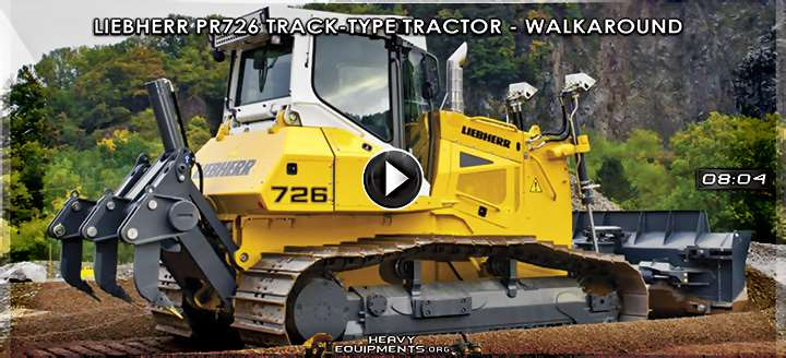 Video: Liebherr PR726 Track-Type Tractor - Walkaround & Features