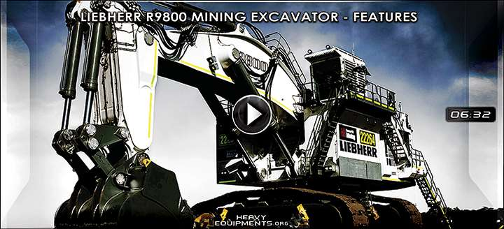 Video for Liebherr R9800 Mining Excavator – Features & Benefits