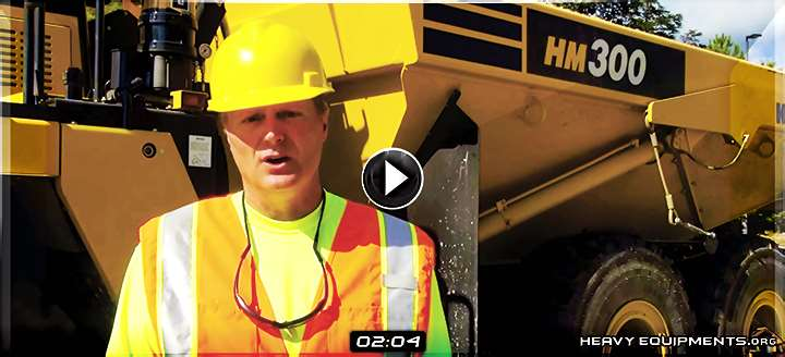 Video: Tips for Komatsu Heavy Equipment Operators About Machine Walkaround