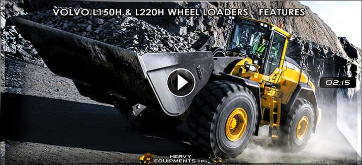 Video for Volvo L150H & L220H Wheel Loaders - Features & Benefits