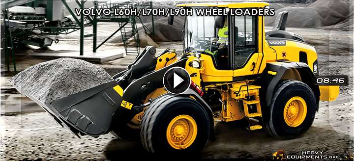 Video: Volvo L60H, L70H & L90H Wheel Loaders - Walkaround & Features