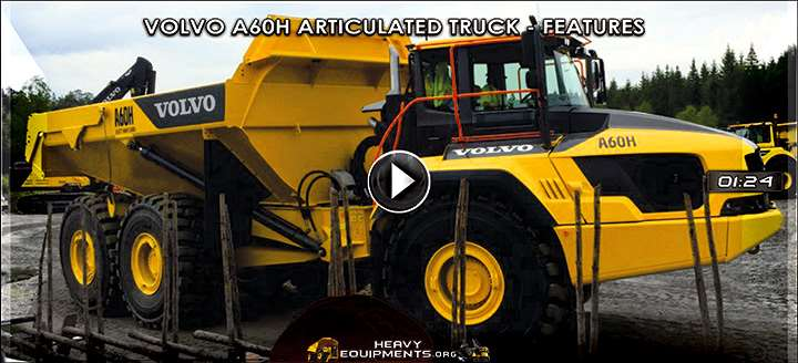 Volvo A60H Articulated Dump Truck – Features & Benefits Video